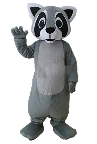 Adult Raccoon Mascot Costume Theme Park Buy Mascots Online Character Design -