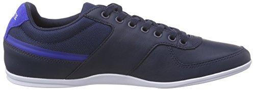 Lacoste Taloire Sport 116 1 Spm, Náuticos para Hombre Rojo (Pacific Blau)