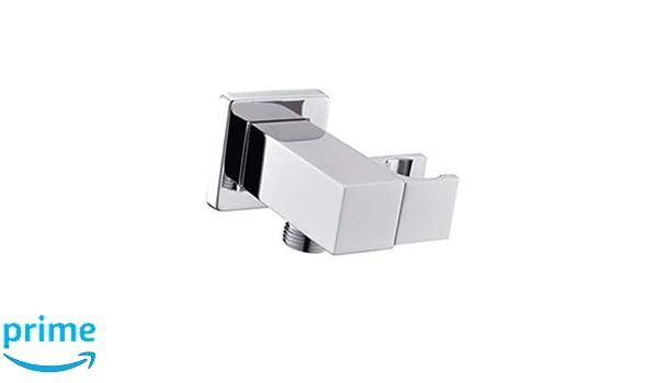 Bathroom All Brass Wall Mount Adjustable Handheld Shower Head Holder Bracket