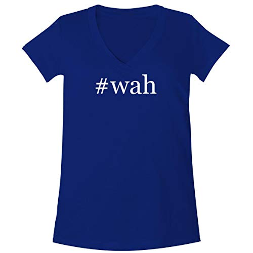Bbe Wah Pedal - The Town Butler #wah - A Soft & Comfortable Women's V-Neck T-Shirt, Blue, XX-Large