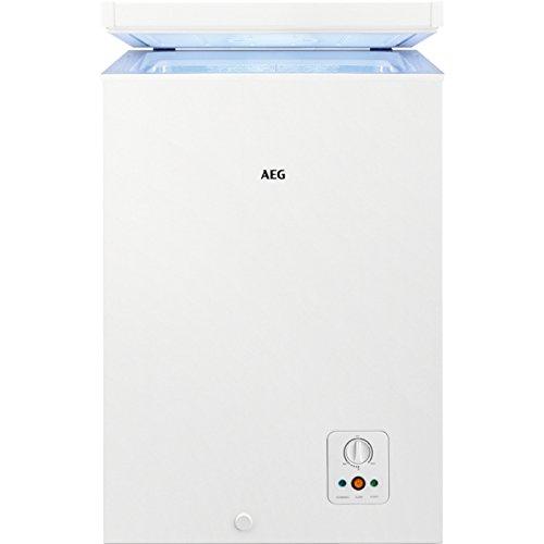 AEG AHB51021AW Independiente Baúl 98L A++ Blanco - Congelador ...