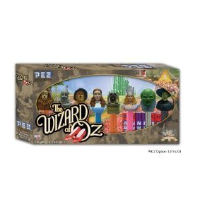 Dorothy Tin Man - PEZ Wizard of Oz Collector's Series Set Includes: Lion, Tinman, Scarecrow, Dorothy, Toto, Glinda, Oz and Wicked Witch by Pez Candy