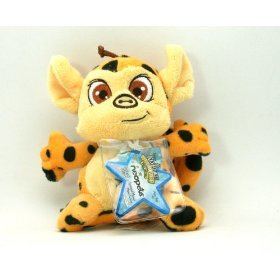 (Neopets Collector Species Series 4 Plush with Keyquest Code Spotted Mynci)