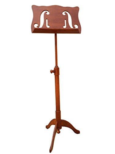 Christino Artist Wooden Music Stand, MS-502, F-holes Design