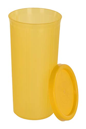 SIMPARTE Plastic Tumbler – Set of 4, Multicolour, 350ml