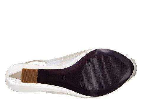 Donald J Pliner Donna Tira-38 Sandalo Argento 8 M