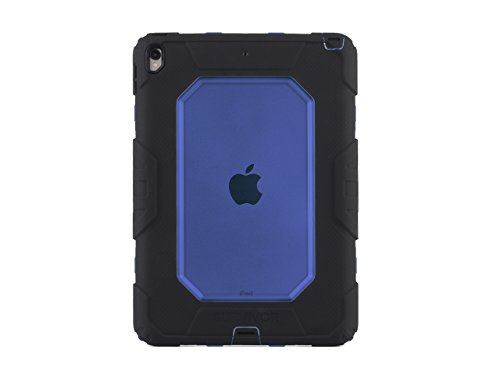 Griffin Survivor All-Terrain iPad 10.5 Case with Stand - Impact-Resistant and Rugged Design, Black/Blue