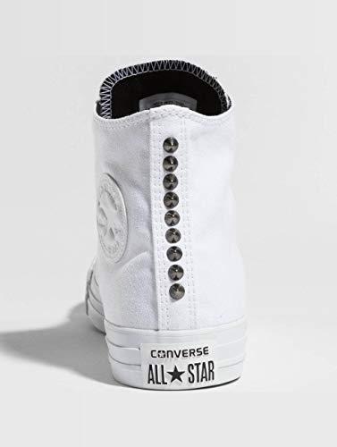 Donna white Canvas Ctas Chuck Bianco 113 Da Hi Converse black white Fitness Taylor Scarpe qUFg4