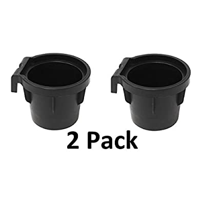 JSP Manufacturing (2) Cup Holder Inserts 2005-2014 Nissan Frontier, Xterra, 2005-2012 Pathfinder Rubber Cup Beverage Holder: Automotive