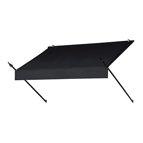 Sunsational Products Replacement Cover for Designer Window Awning - Ebony - Size: 6' 3020870