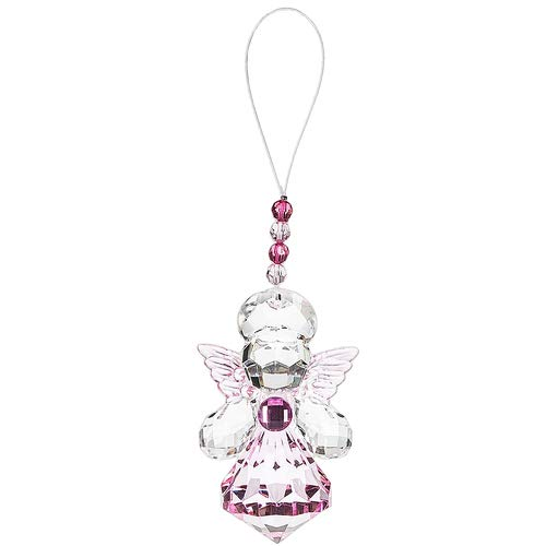 Ganz Crystal Expressions Angel Ornament - Pink ()