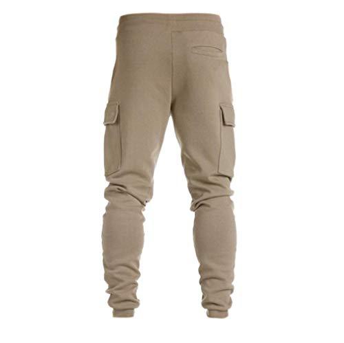 Della Uomini Pantaloni Danza Abbigliamento Tuta Sportivo Cachi Jogger Sumtter f7yYvg6b
