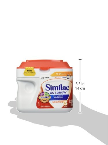 Amazon.com: Similac Sensitive Stage 3 Toddler Formula - Powder - 22.08 oz: Health & Personal Care