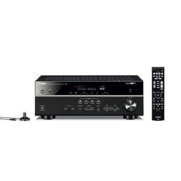 Yamaha RX-V583BL 7.2-Channel 4K Ultra HD MusicCast AV Receiver