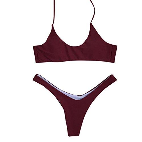 Bagno Dorame Imbottito Push Da Da Bikini Donna Rosso Bagno Con Bikini Bagno Costumi 2018 Da Da Costume Up Slip Zqt0wd0
