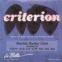 Unidades 3 Mute cuerdas para guitarra eléctrica Criterion la Bella c200r Calibre regular 010 - 046