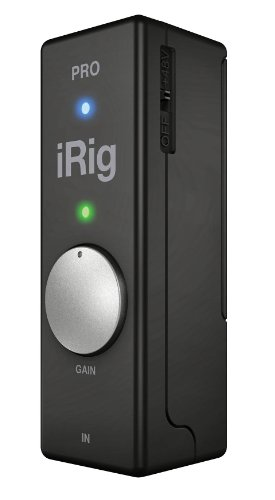 IRIG PRO UNIVERSAL AUDIO/MIDI INTERFACE FOR IOS DEVICES AND MACS by IK Multimedia