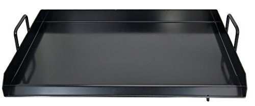 Comal Griddle Flat Top Rectangular Grill Plancha Comal Heavy Duty 32' x 18.5' x 2.5'