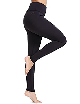 XTUPO Women's Yoga Pants High Waist Tummy Control Workout Leggings 4 Way Stretch Tights,Exercise Running
