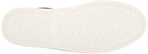 Crocs Mens Citilane Duk Spets M Mode Gymnastiksko Svart / Vit