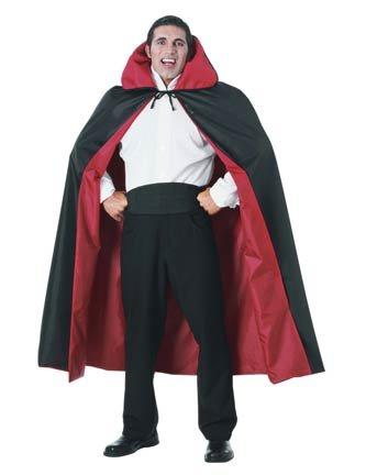 Halloween Costume Capes Reversible Taffeta Cape Full (Cape Taffeta Costumes)