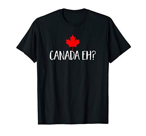 Canada Eh? Maple Leaf T-Shirt - Canada Pride Canadian Tee