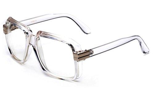Newbee Fashion - IG 80's Old School Rapper Hip Hop DJ Short Trim Glasses