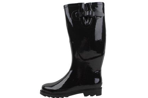 New Womens Black Rubber Rain Boots Size - Womens Rain Boots Size 6