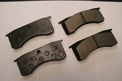 Performance Friction Brakes 0769.10 Rear Brake Pad by Performance Friction Brakes (Image #1)