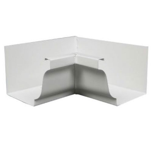 AMERIMAX HOME PRODUCTS 33201 5-Inch Galvanized Inside Mitre, White ()