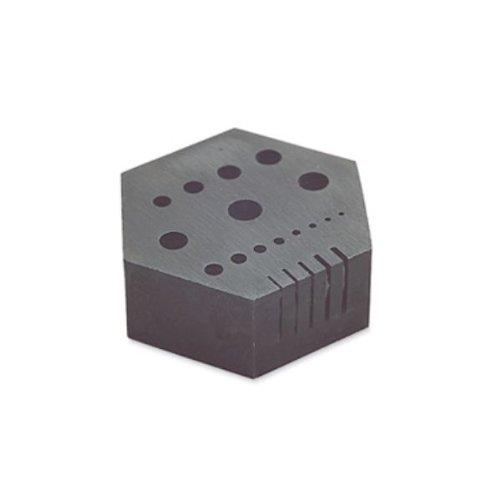 Hexagonal Anvil, 1-5/8 Inch By 3/4 Inch