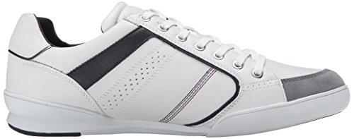 Geox Low-Top Uomo Bianco (Blanc (C1z1v))