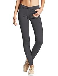 Womens Ultra Stretch Comfy Skinny Pants