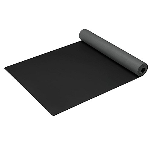 Gaiam Athletic Yoga Series 2gripMAT Xtra-Large Mat, Black, 5