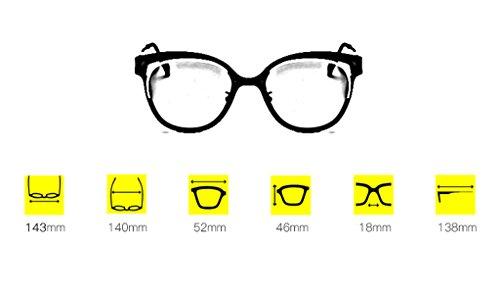 Soleil Lym Lunettes A x885 amp; Personnalité B Femmes Protection couleur Mode De Polarisées amp;lunettes rn4X1nTf