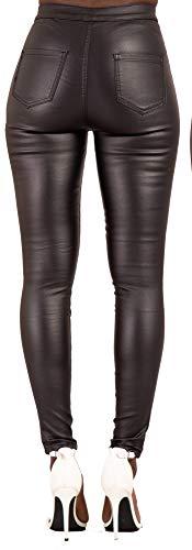 Waist Donna High Black Jeans Lustychic agqZwP6