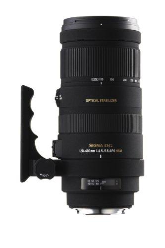 31laGcBfNnL - Sigma 120-400mm f/4.5-5.6 AF APO DG OS HSM Telephoto Zoom Lens for Canon Digital SLR Cameras
