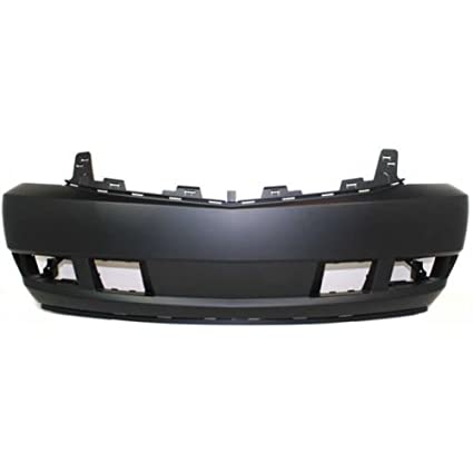 amazon com: oe replacement cadillac escalade front bumper cover (partslink  number gm1000816): automotive