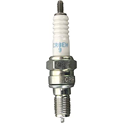 NGK (5666) CR8EH-9 Spark Plug - Pack of 1: Automotive