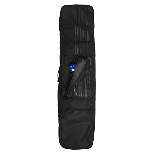 Price comparison product image Winterial 2018 Snowboard Bag, Carrying Bag, Snow Gear, Snowboard, Black, WHEELED BAG