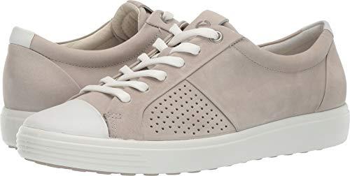 (ECCO Women's Women's Soft 7 Sneaker Concrete Cap Toe 40 M EU (9-9.5)