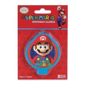 Super Mario Birthday Party Cake Candle by (Party City Mario)