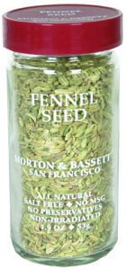 Morton And Bassett Fennel Seed Seasoning, 1.9 Ounce - 3 per case.