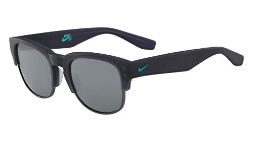 Nike Volition Round Sunglasses Matte Obsidian 54 mm