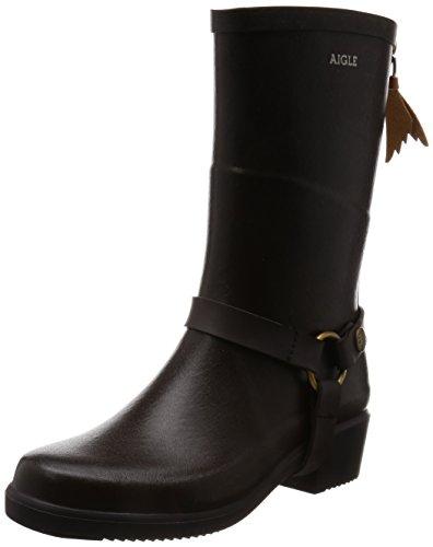 Aigle Miss Julie Boots Bruin 41 Eu / 10-11 Us