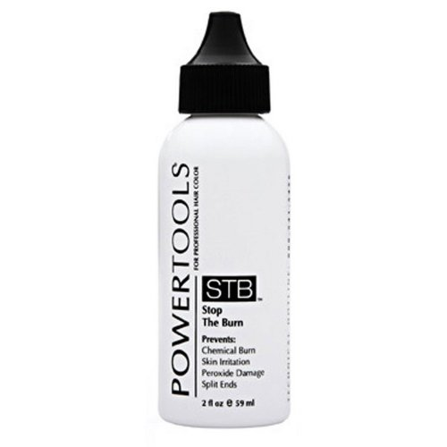 POWERTOOLS STB Stop The Burn 2 oz Protect Hair & Scalp From Chemical HC-32706