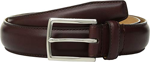 Haan Belt Mens Cole (Cole Haan Mens 32 mm. Smooth Leather Pressed Stitch Edge Cordovan 34)