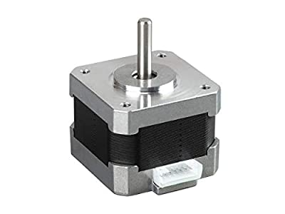 Monoprice MP Mini Extruder and Z Axis Stepper Motor | Replacement/Spare Parts for Selective 3D Printers