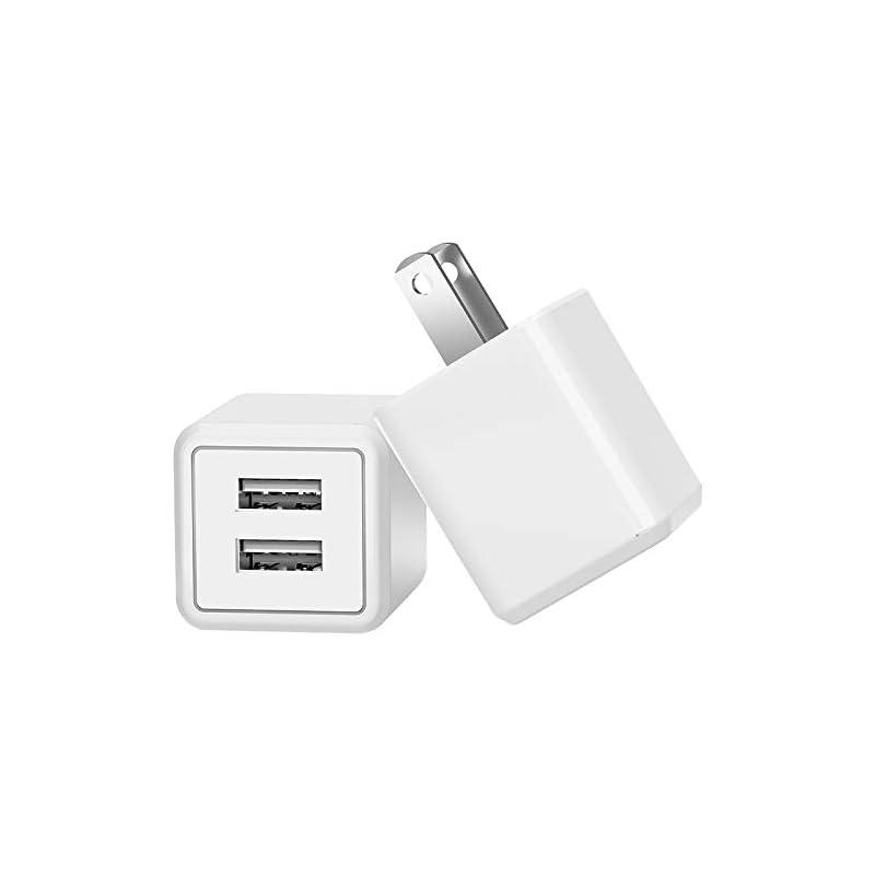 USB Wall Charger,Dual USB Travel AC Adap