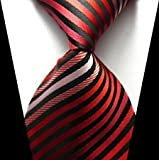 Best Classic Brands Bed Toppers - jacob alex #38829 Classic Necktie Multi-Color Striped Tie Review